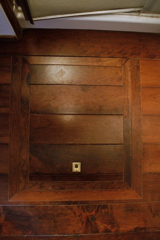 Trapdoor added to existing hardwood floor