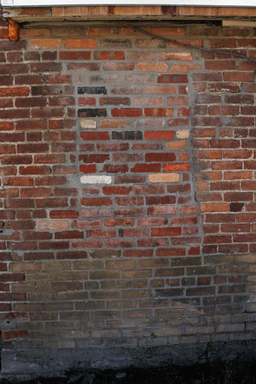 Bricking up old window