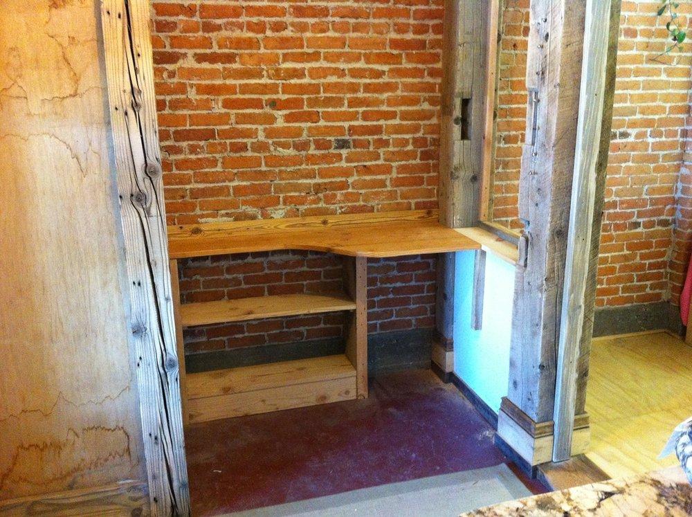 Custom cabinetry install