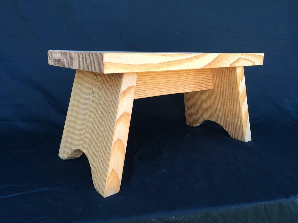 Custom foot stool