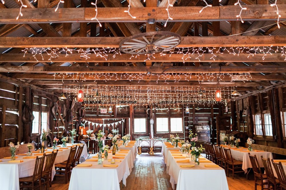 Historic Dance Hall - Our Historic Dance Hall is a rustic early 20th century country gathering place. It features a solid wood dance floor, bandstand, and a very cool Antique Soda Fountain which makes a great bar and refreshment station. Seats up to 150 guests.