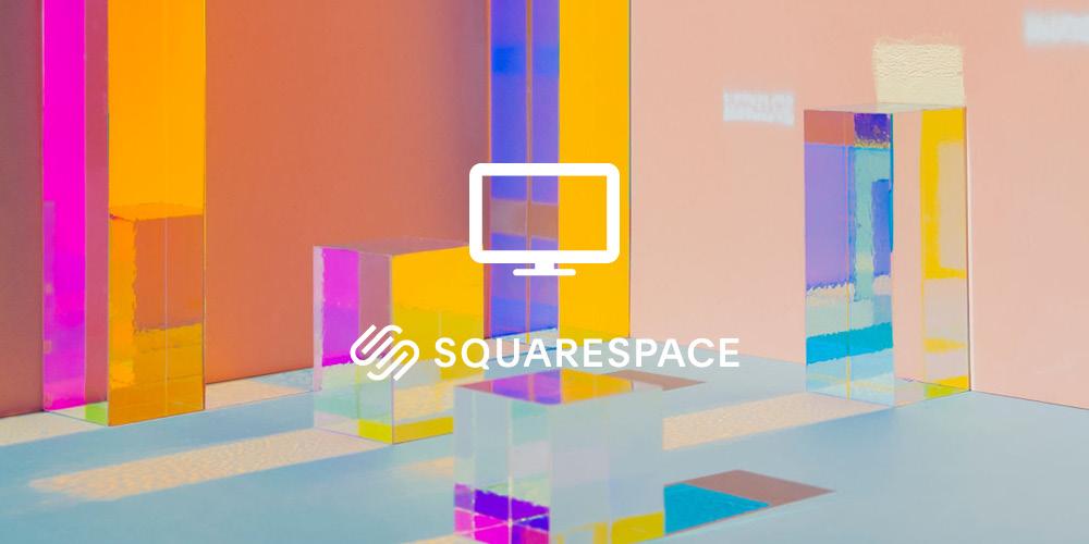 Squarespace website -