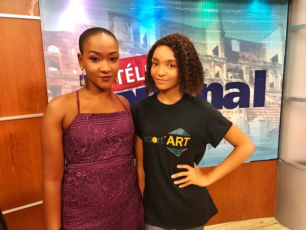 Télé Nationale D'Haïti - Interview