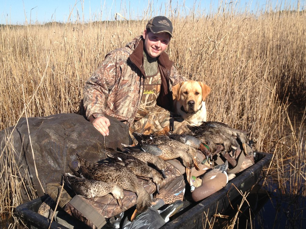 Zack and Hoss with limit 2012 opener.JPG