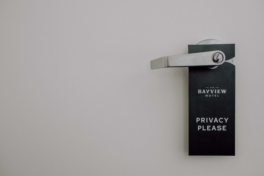 The Bayview Motel Door