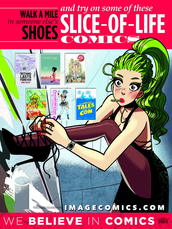 We Believe In Comics: Slice-of-Life genre poster