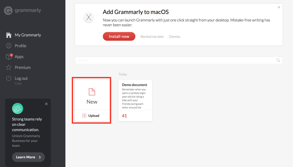 Grammarly Editing 3
