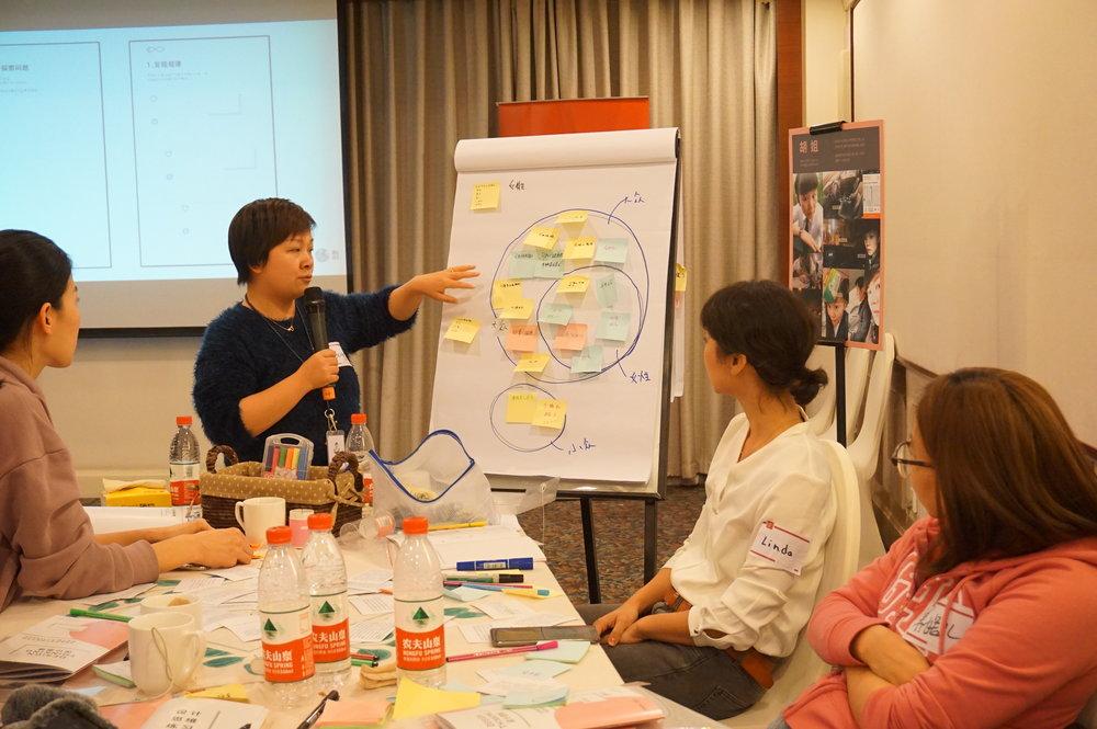滴滴员工培训   如何让滴滴员工学习共益设计,从而更好的理解女性用户的需求。  #女性