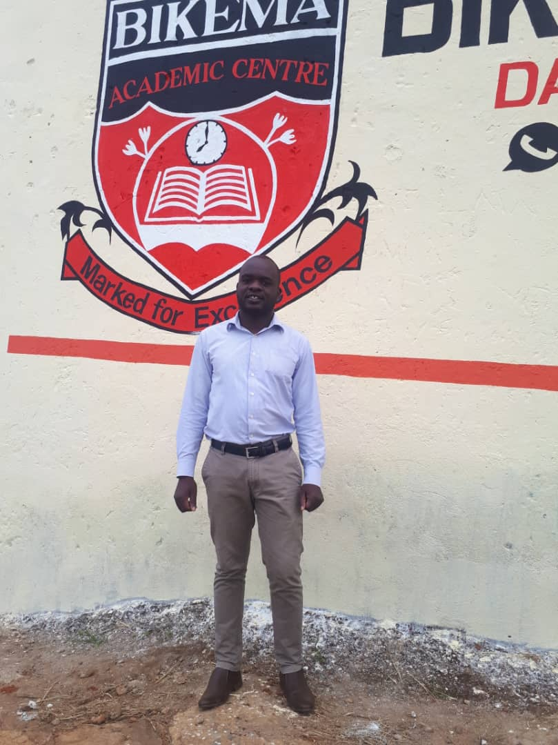 """- """"In my village we had no mentors to look up to, but my father was a primary school master and he always encouraged us to work very hard in school"""" said Emmanuel. """"So I really worked hard ... then I was selected to go to the university of Malawi and pursued a Bachelor of Science in education""""."""