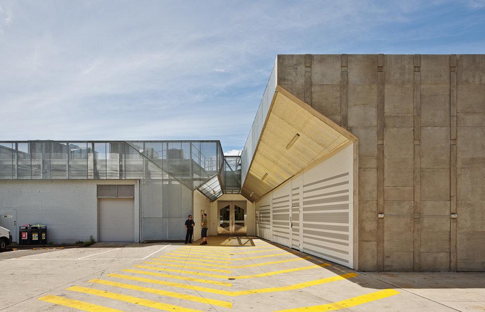 Paul Morgan Architects Monash University, Building 40 Workshops, Clayton