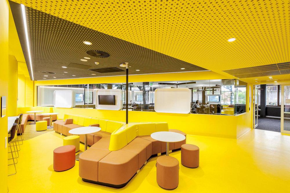 Paul Morgen Architects RMIT University, Building 205 Teaching Spaces