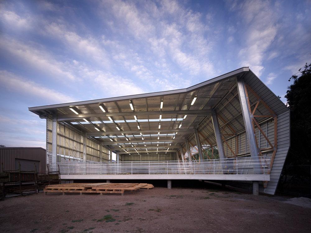 Paul Morgan Architects Box Hill Institute, Building Barn