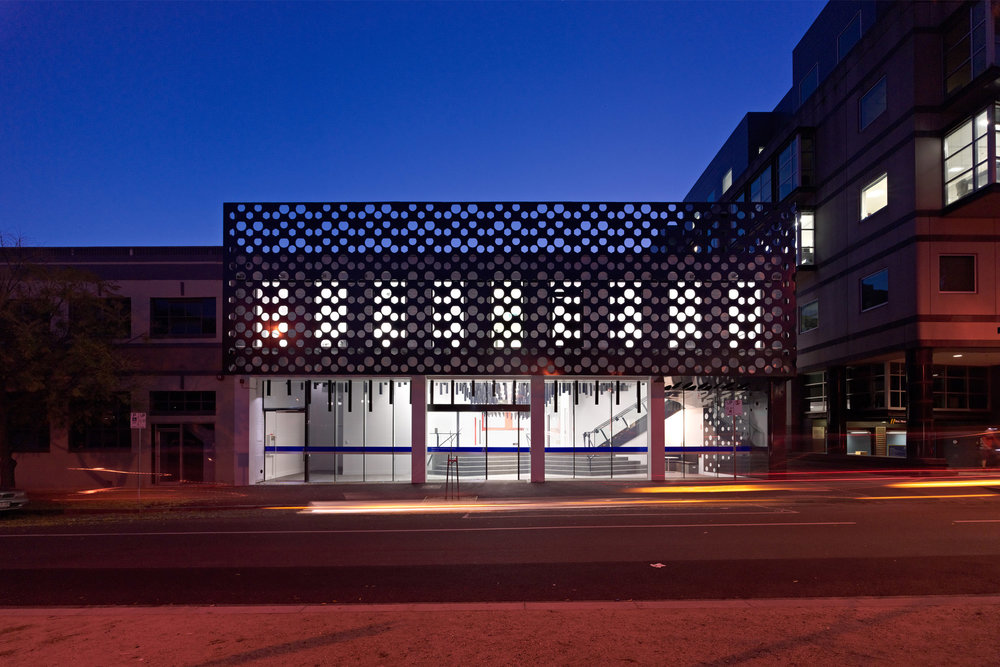 Paul Morgan Architects University of Melbourne, The Centre for Neural Engineering exterior