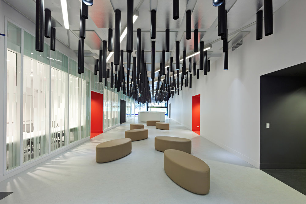 Paul Morgan Architects University of Melbourne, The Centre for Neural Engineering interior