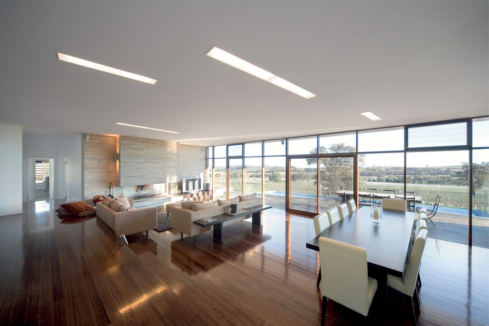 Paul Morgan Architects Avenel House self-sustaining interior