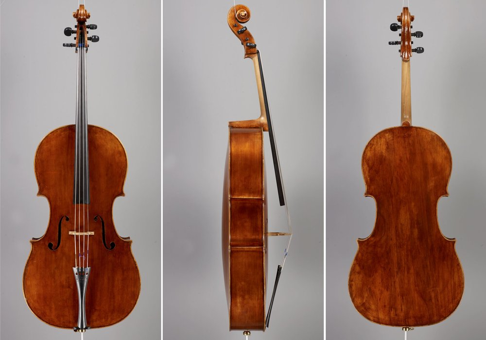 'Marquis de Corberon' Stradivari model, made for Steven Isserlis