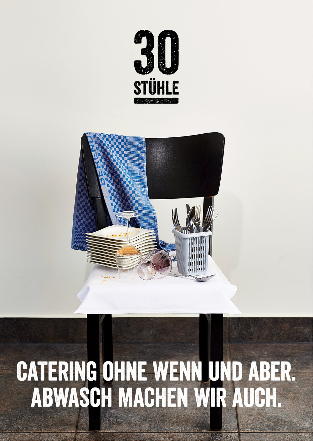 Catering Restaurant 30 Stühle