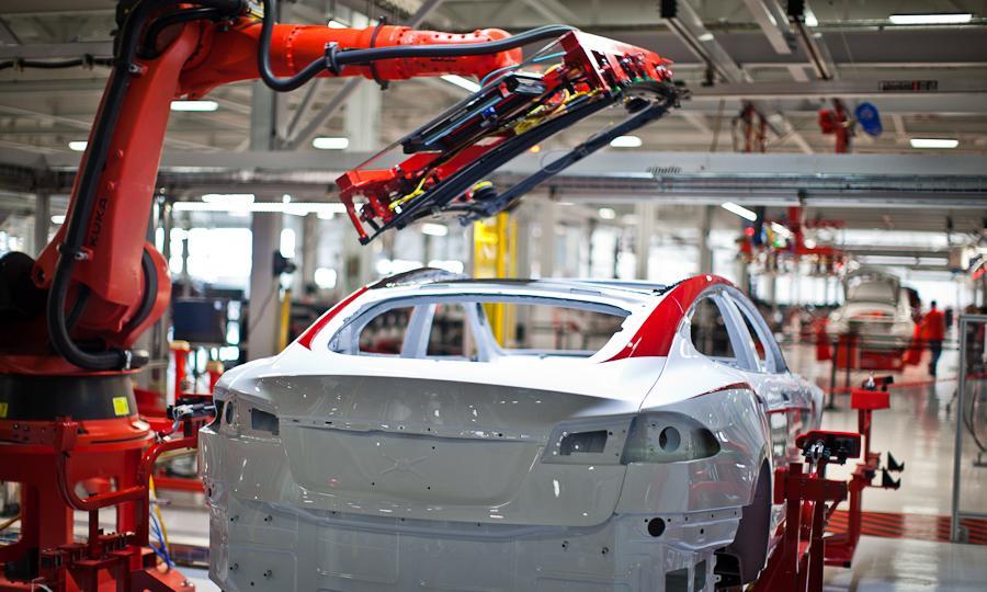 Tesla-S-Factory