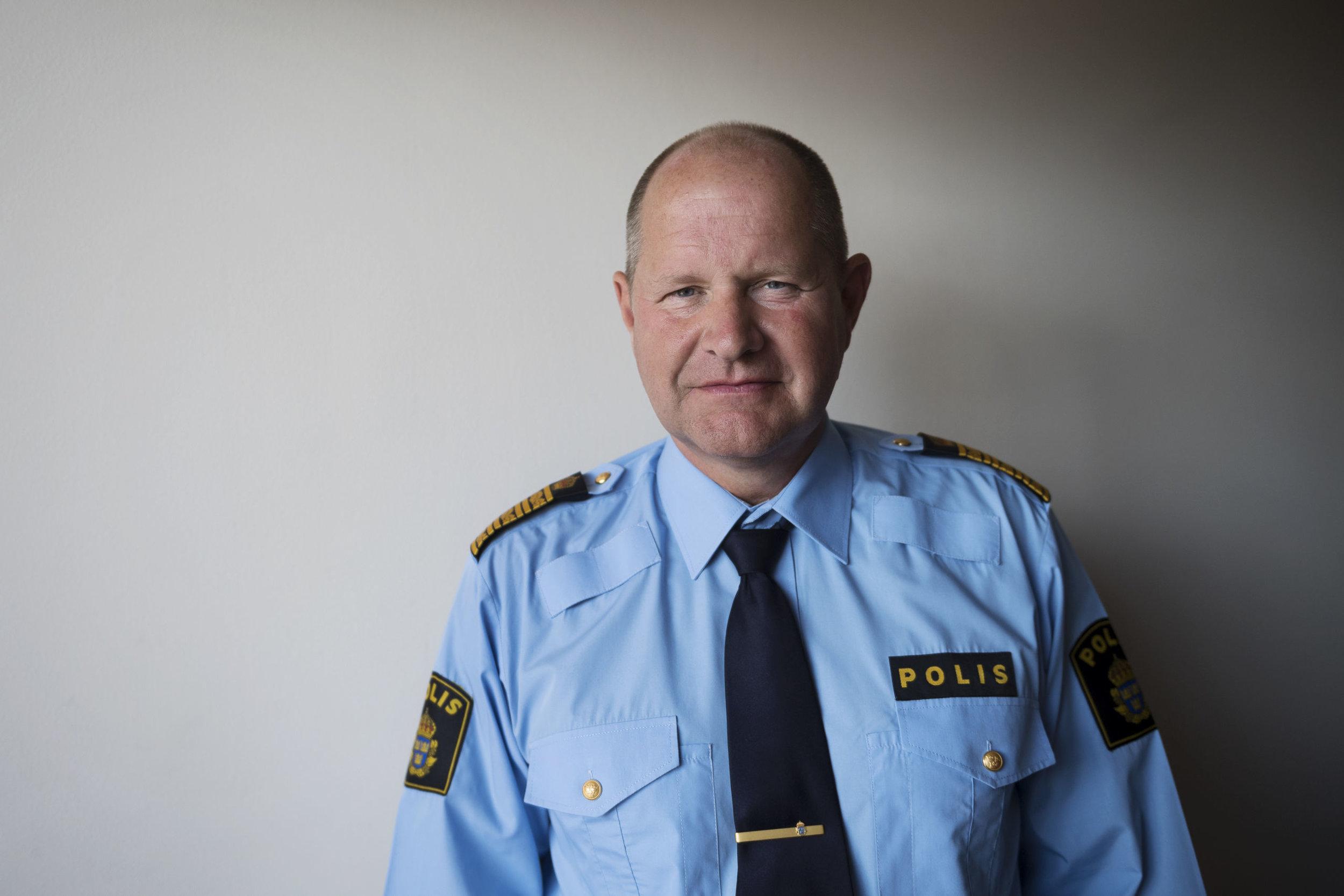 Rikspolischefen Dan Eliasson är tydlig med att säga att han tar ansvar för att försöka komma till rätta till problemen inom Polisen. Men händer det något eller är det bara något han säger? Bild: Vilhelm Stokstad/TT/Sydsvenskan