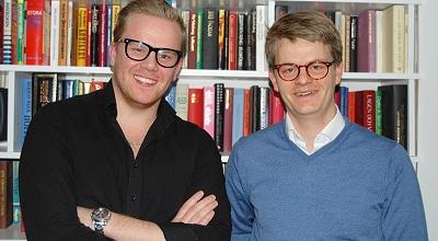 Programledare Anders Nyberg och Per Grankvist