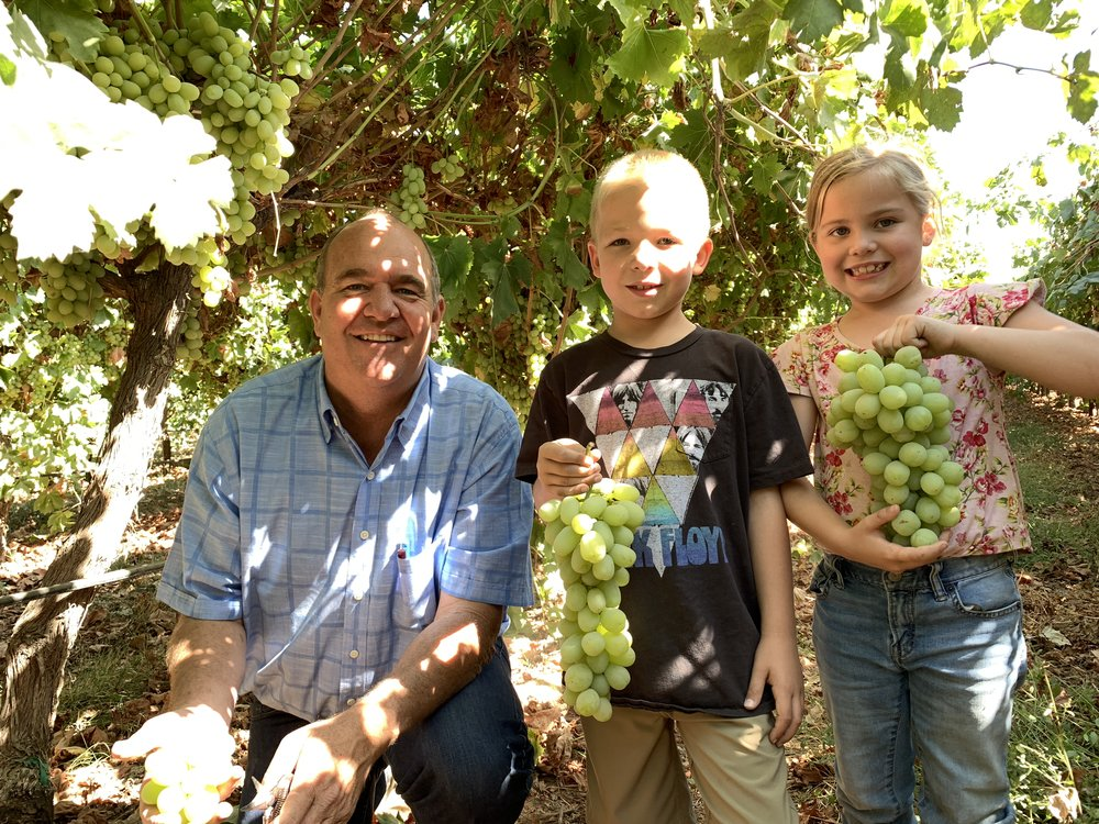 Owner, Martin Hein with his kids Jack & Emily (Summer 2018)