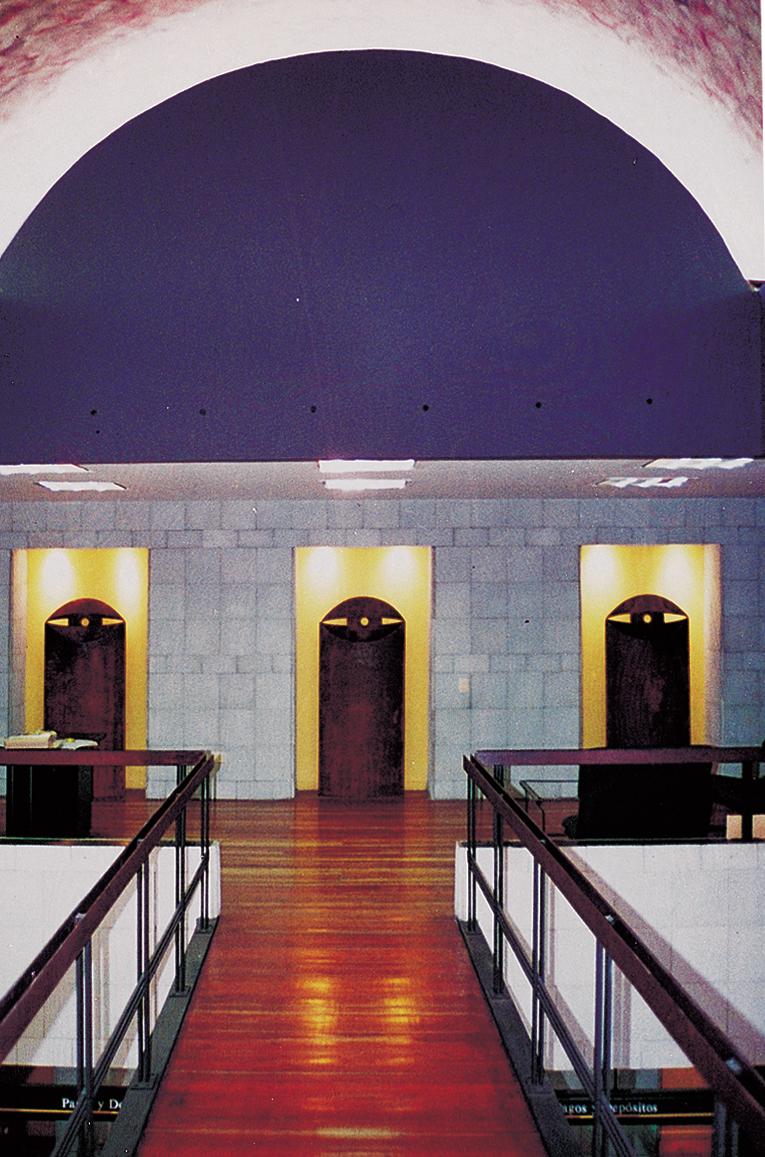 XIV COLOMBIAN ARCHITECTURE BIENNIAL 1994 - SelectionCategory: Architectural DesignBanco de ColombiaLocation: Cali, Colombia.