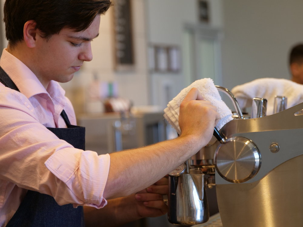 COFFEE+EDUCATION - A STUDENT RUN COFFEE SHOP