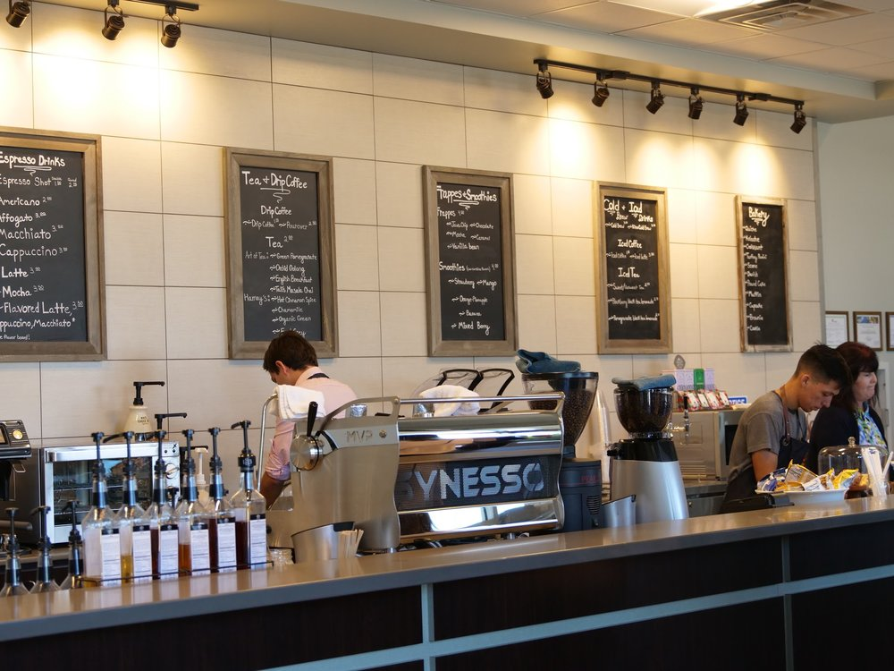 Deja brew - A Student-Run Coffee Shop