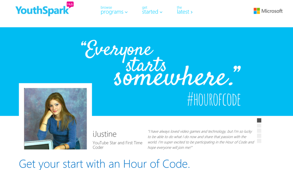 Youthspark everyone starts somewhere hourofcode.png