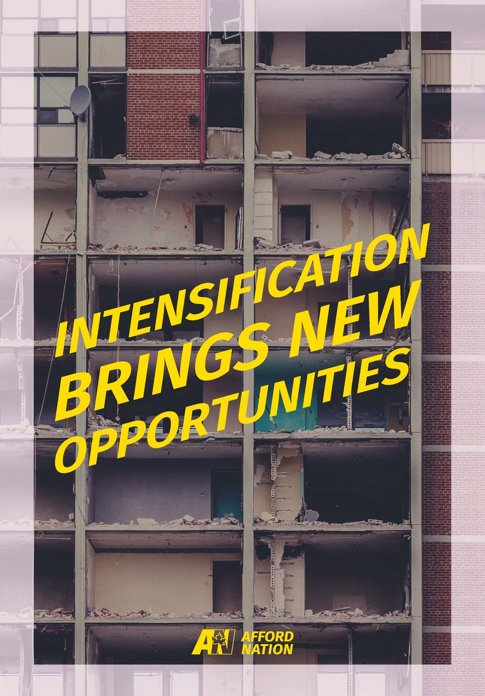 Intensification brings new opportunities