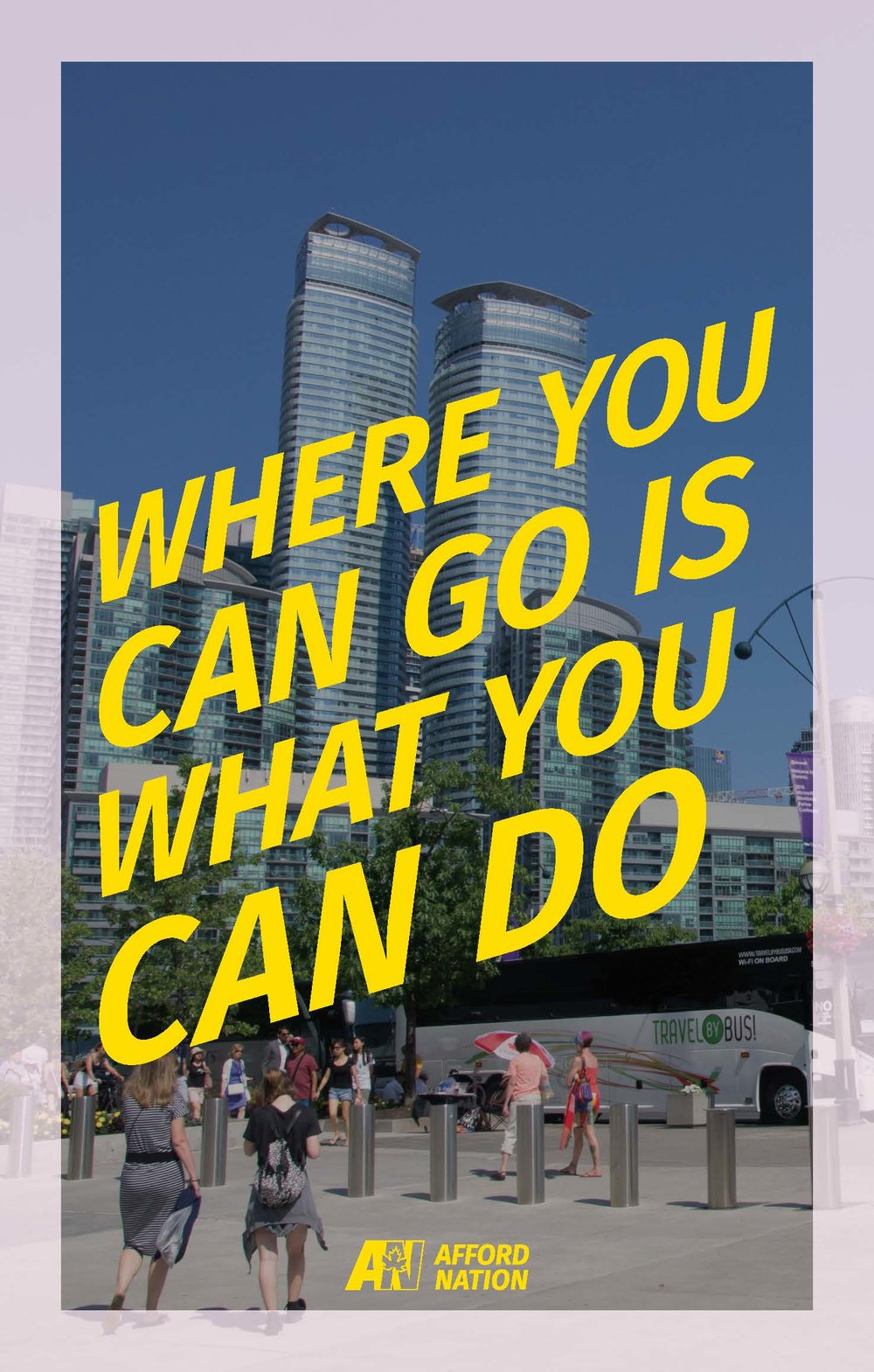Where you can go is what you can do