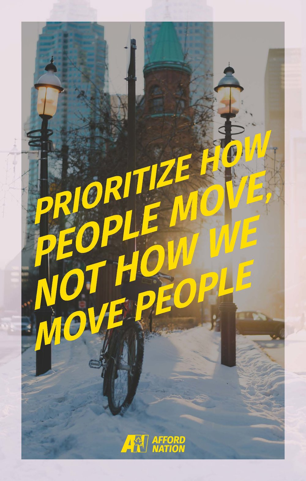 Prioritize how people move, not how we move people