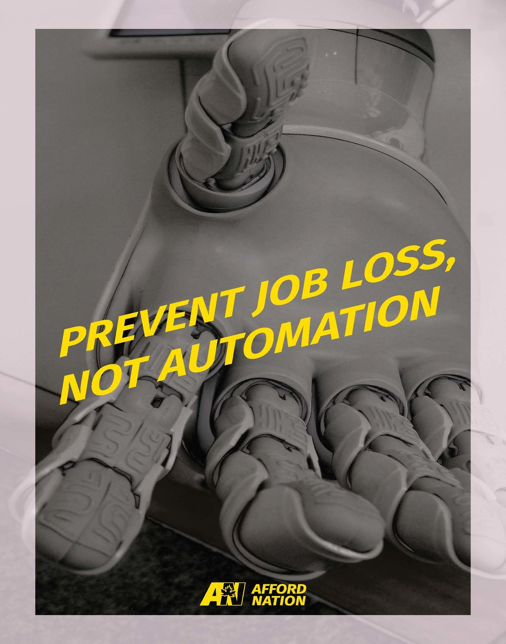 Prevent job loss, not automation