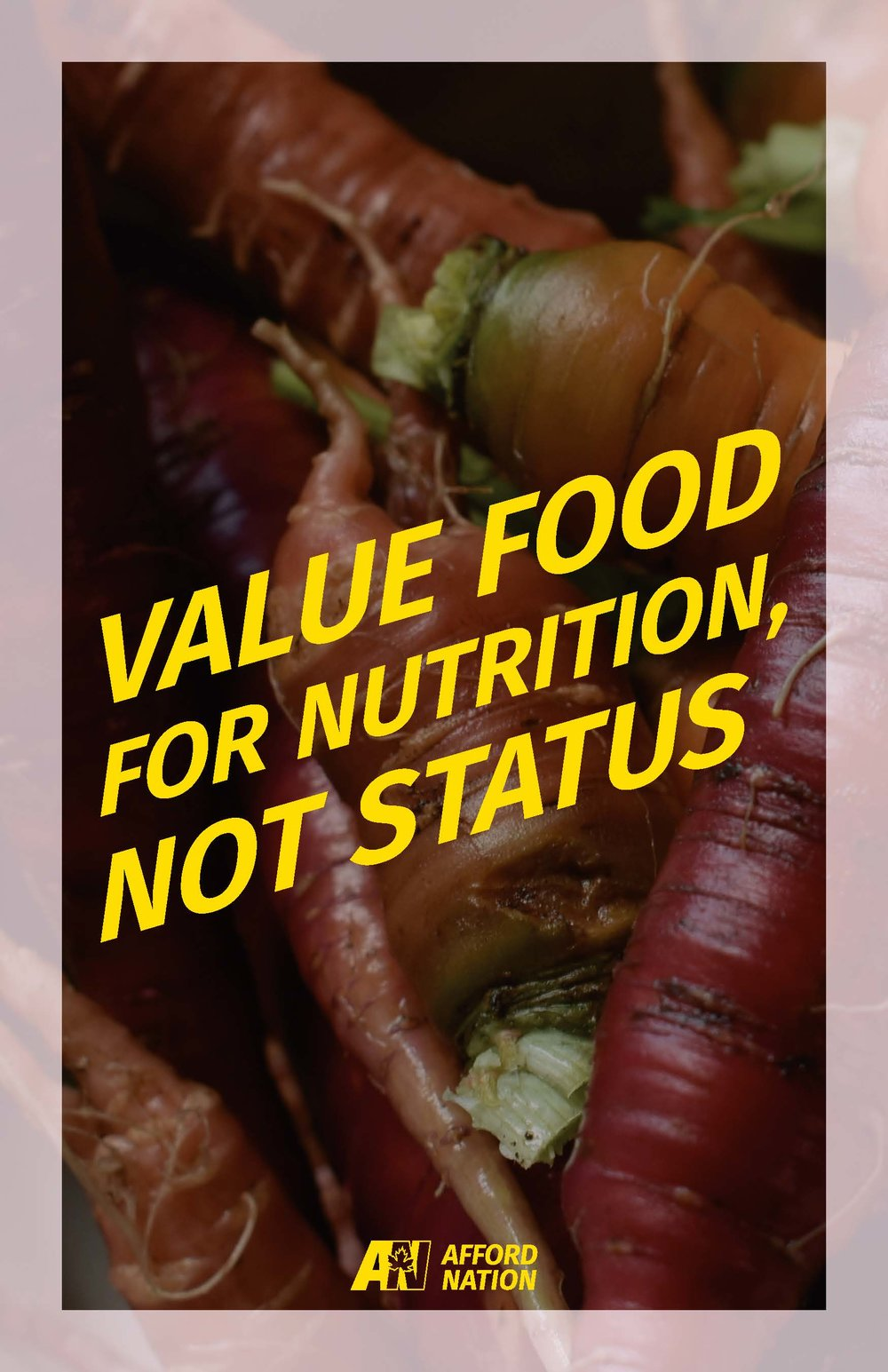 Value food for nutrition, not status