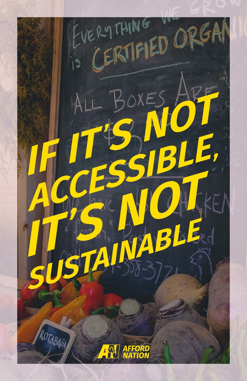 If it's not accessible, it's not sustainable