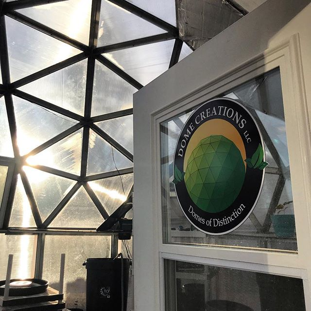 We are so grateful for our generous partners including Dave who builds beautiful greenhouse domes! 🥕🥕🥕 Thank you @dome_creations for our beautiful dome over at Mid Shooks Run!