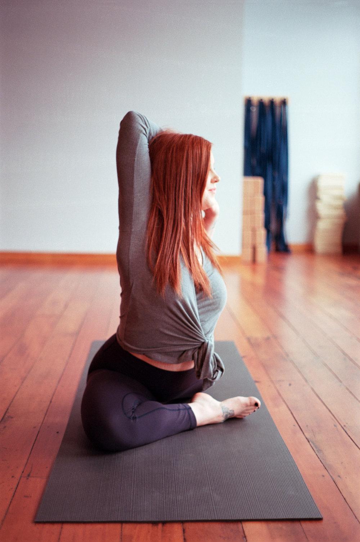 Georgia Corr yoga instructor The Dharma Room
