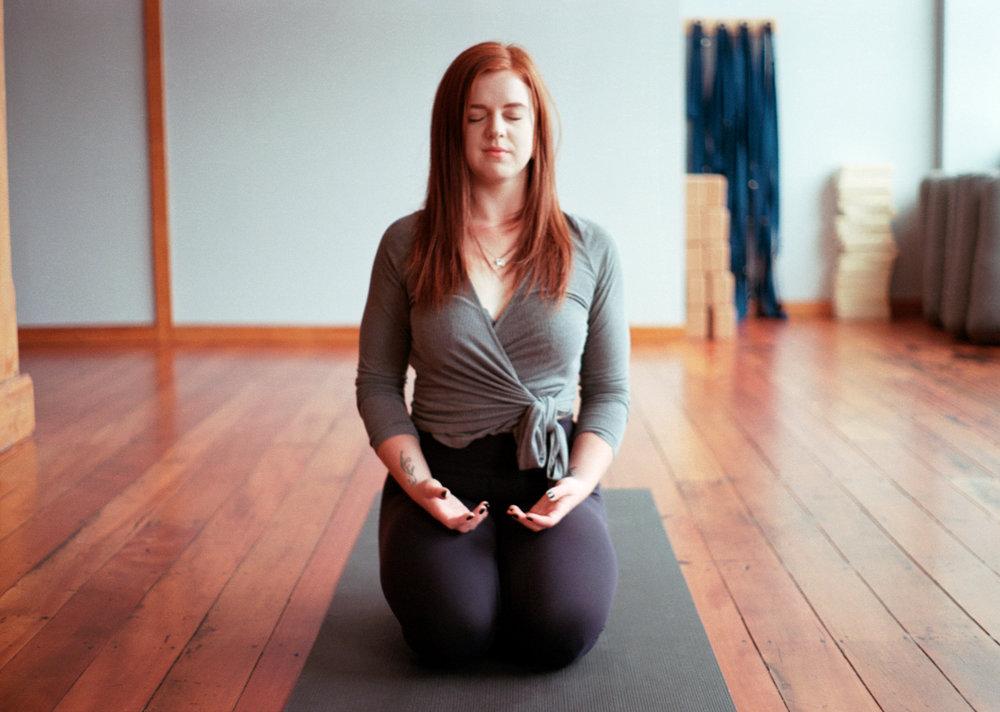 Georgia Corr yoga pose