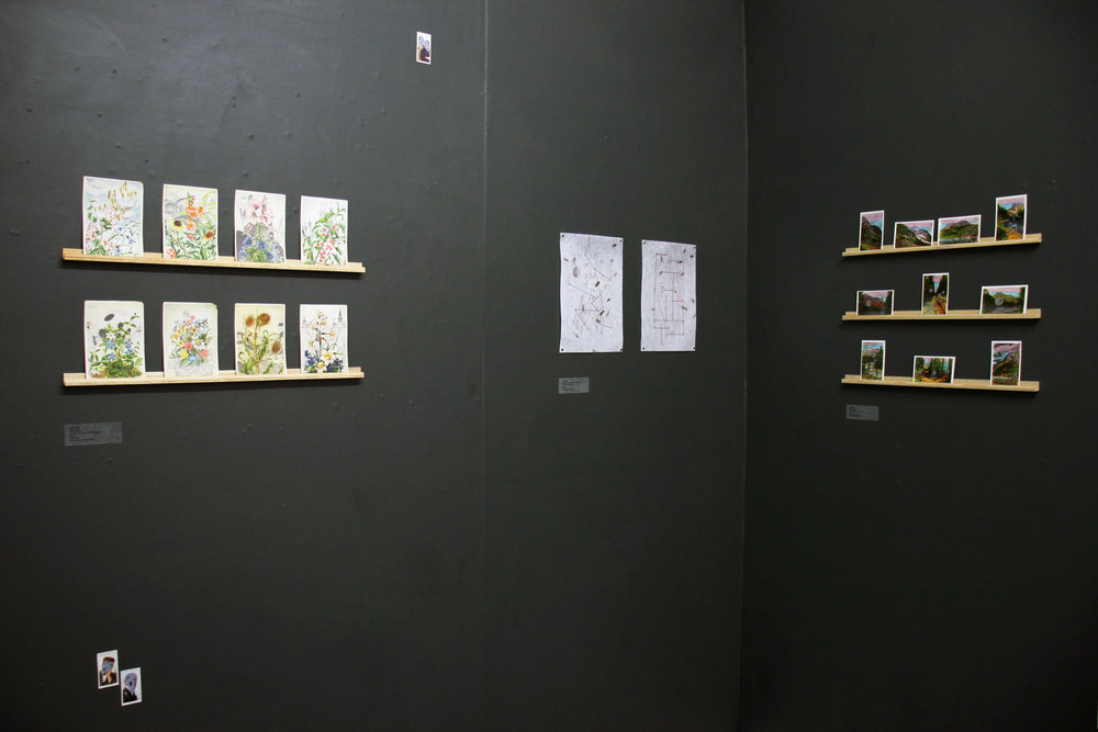 Installation view of  Cypher  @ PAPER, 2018
