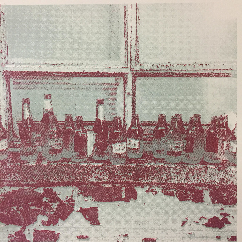 Lubna Ali - Screen-print on Canaletto paper (2018)