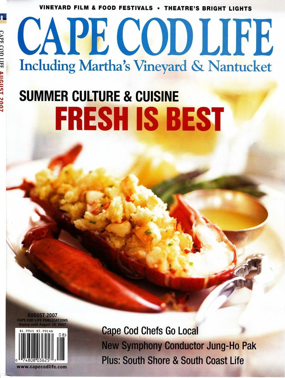 cape cod life 2007 cover