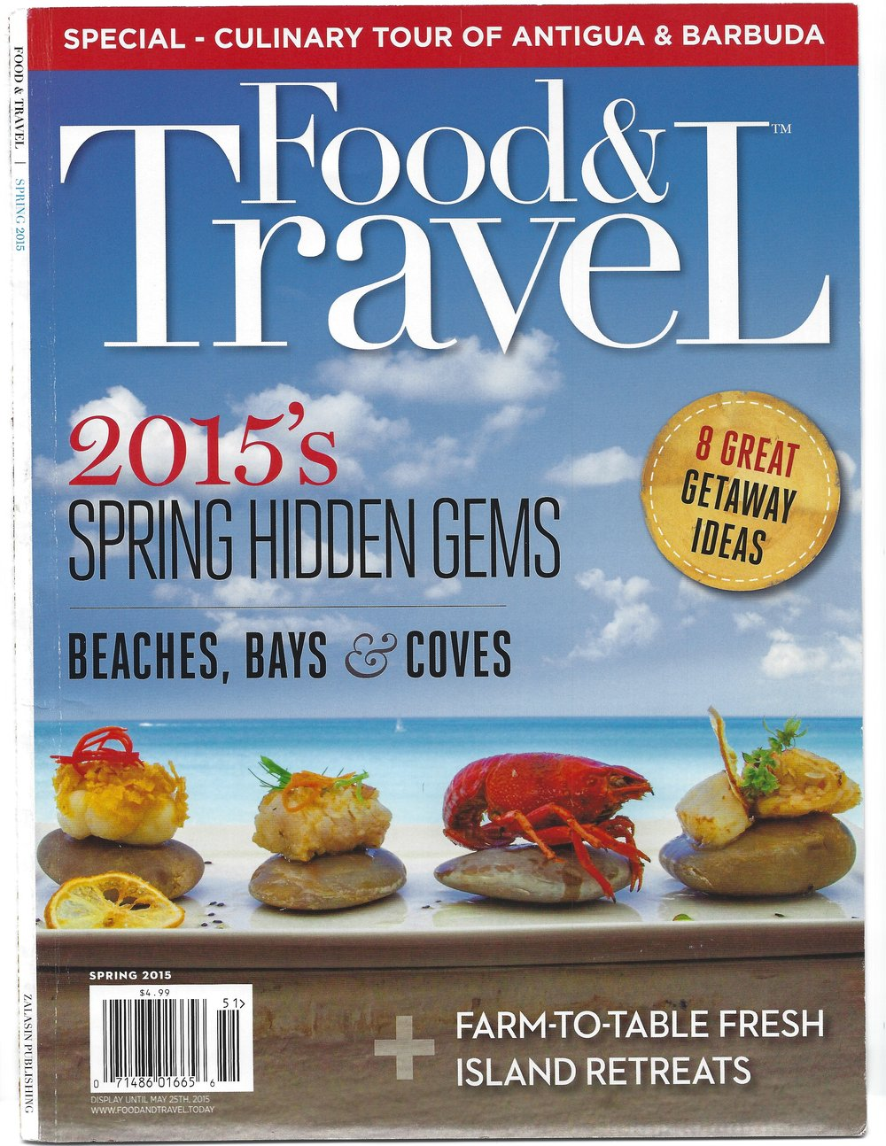 food & travel 2015 cover