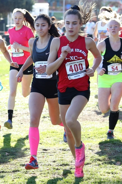 Congratulations to  Milena Kalisch  for her bronze performance at the USA Region 13 Championships. Milena has now qualified for the US Junior Cross Country Championships to be held December 8th in Reno, Nevada. Way to go Milena!!