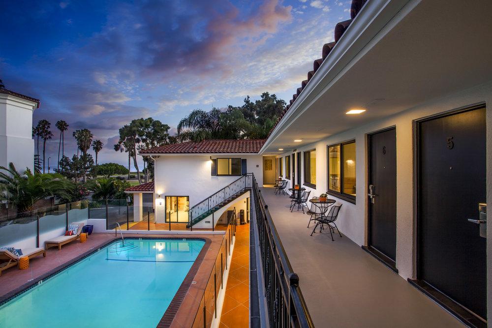 14. Blue Sands Inn - Pool Ocean Twilight.jpg