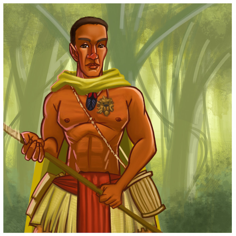 Akiti the Hunter 1st African Action Superhero