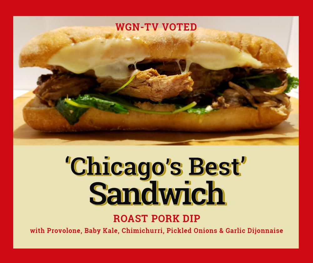 Chicago's best sandwich Sawmilly