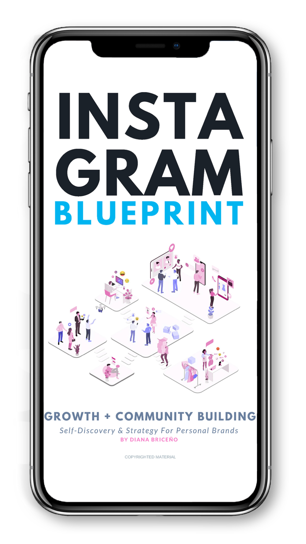 Instagram growth minus the crazy guesswork - No more feeling lost and figuring out how all the pieces fit together. The Instagram Blueprint is the ultimate hands-on guide for building a heart-centered personal brand on Instagram.The cherry on top? You get to have  your  questions answered by me on a 1:1 call after you finish the book! You also get lifetime access to all Instagram Blueprint updates.