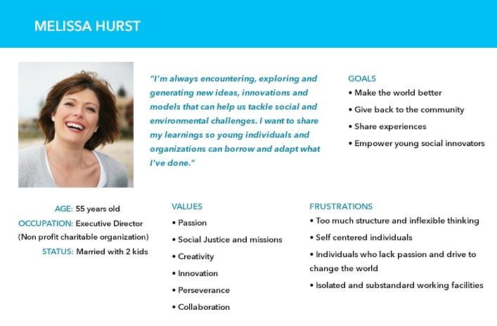 USER PERSONA 1: MENTOR/ EXPERIENCED WORKING IN SOCIAL ENTERPRISES