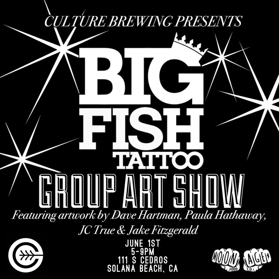 Big Fish Tattoo - June 2018