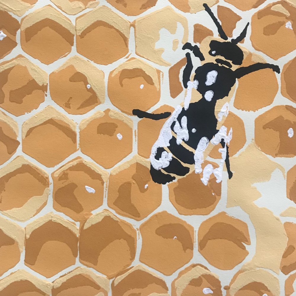 Landry McMeans - Flagstaff | Stencil Print Artist